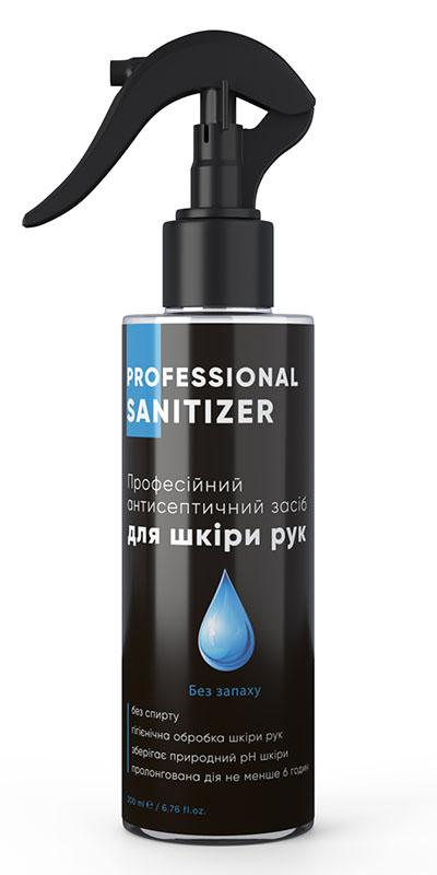 """Засіб дезінфекційний антисептичний """"HEALER®  Sanitizer Pro"""" Без запаху <br>200 мл"""
