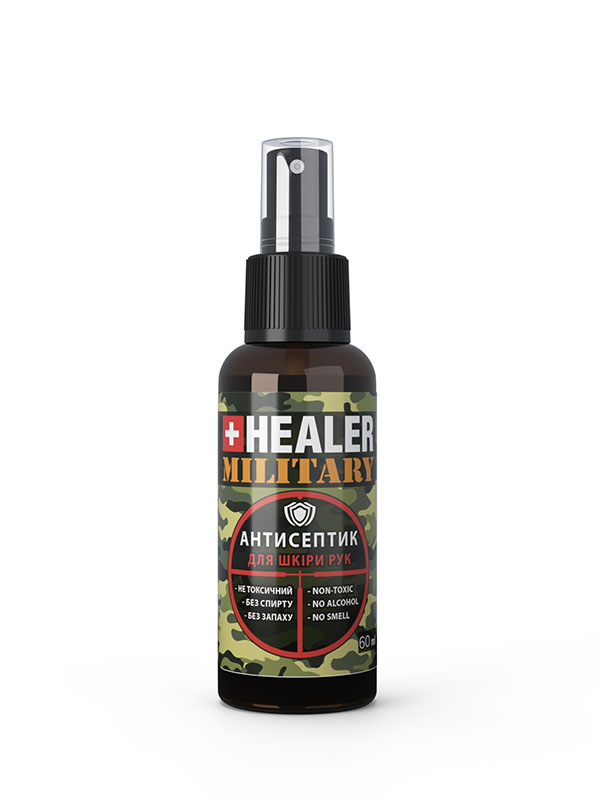 Hand sanitizer HEALER – Military
