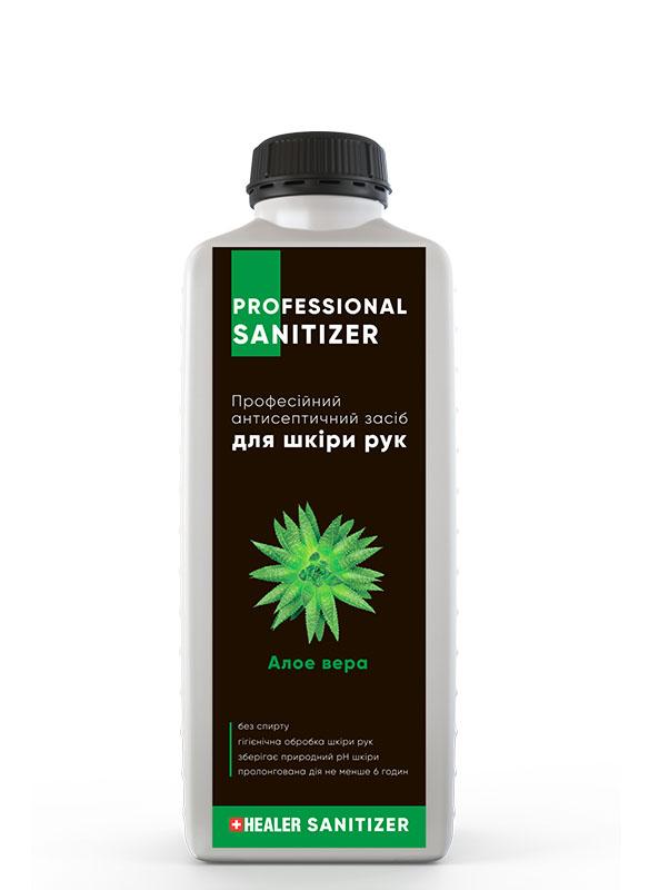 Професійний антисептичний спрей для рук HEALER 2000 ml. Алое вера